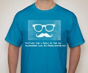 #6 for Design a T-Shirt for MOvember T-shirt Design by abhishekchoubey