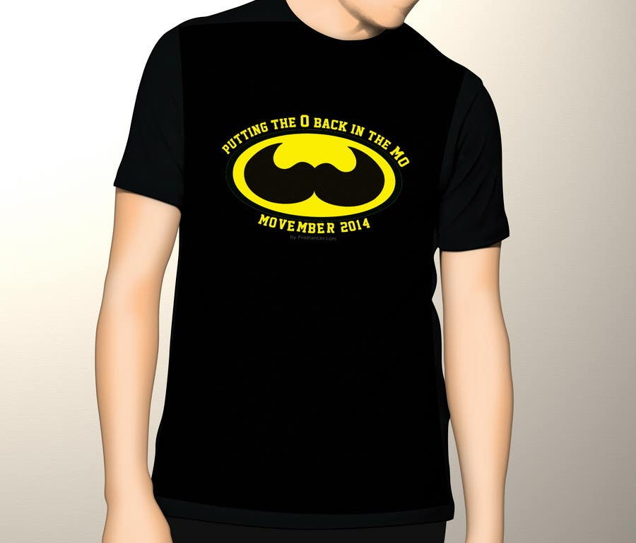 #24 for Design a T-Shirt for MOvember T-shirt Design by TemplateDigitale
