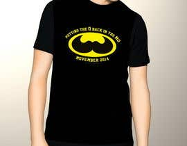 #24 cho Design a T-Shirt for MOvember T-shirt Design bởi TemplateDigitale