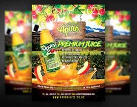 Nro 12 kilpailuun A4 flyer design for juice käyttäjältä mirandalengo