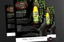 Graphic Design Entri Peraduan #17 for A4 flyer design for juice