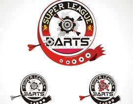#42 untuk Design a Logo for our Darts Website - SuperLeagueDarts.co.uk oleh TOPSIDE
