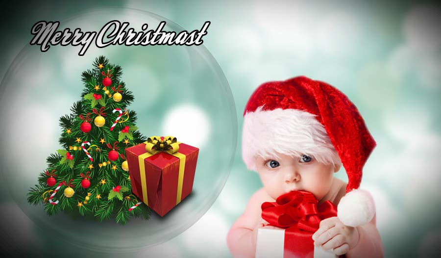 Proposition n°6 du concours Digital Christmas card - style silver_glass