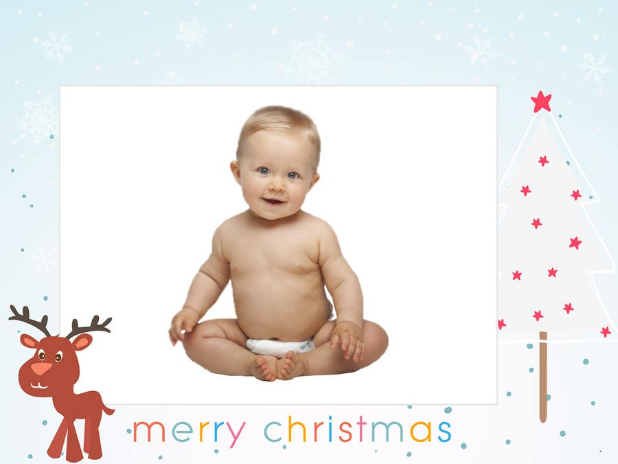 #4 for Digital Christmas Card - Style simplicity by syazwind