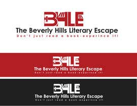 alexandracol tarafından Design a Logo for The Beverly Hills Literary Escape için no 46