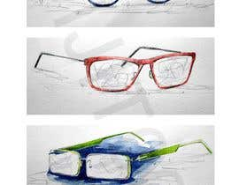 #24 for Fashion Illustrations of Spectacles and Office Equipment for Website by avijitsil009