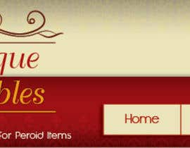 #12 untuk New Design header for an antique/vintage/retro web site oleh blackd51th
