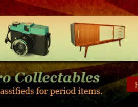 #27 para New Design header for an antique/vintage/retro web site por akshavi