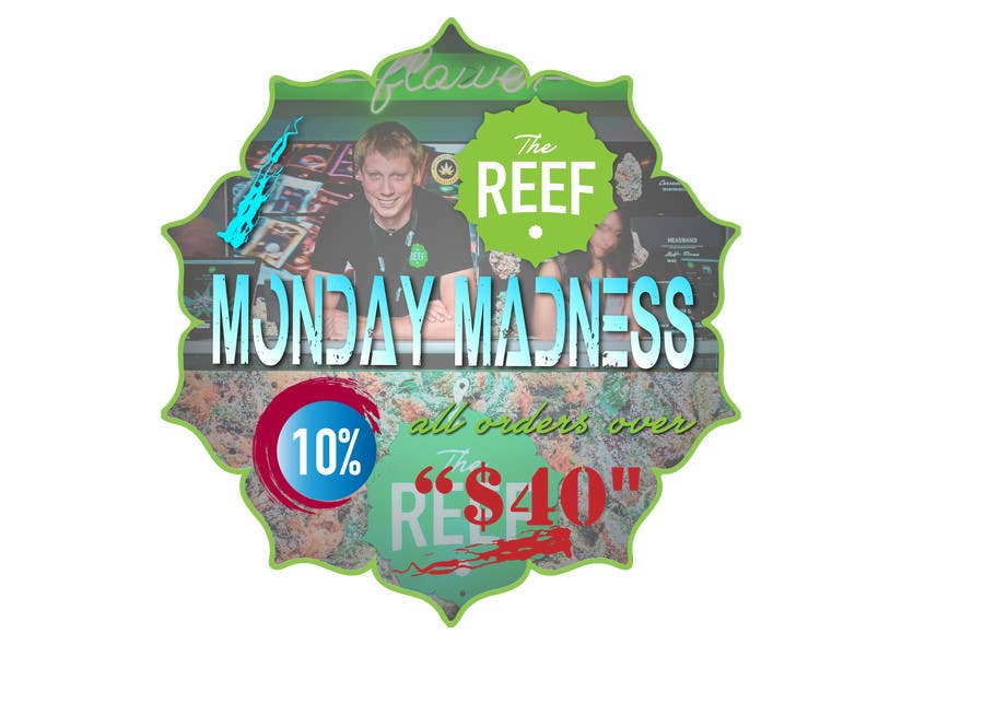 Contest Entry #                                        3                                      for                                         The Reef- In Store Graphics