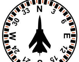 #4 for Draw an airplane compass by mukhliskitakita