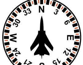 Nro 4 kilpailuun Draw an airplane compass käyttäjältä mukhliskitakita