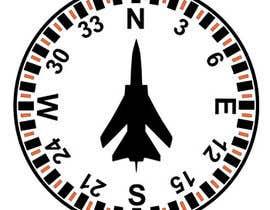 Nro 5 kilpailuun Draw an airplane compass käyttäjältä mukhliskitakita