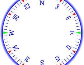 Nro 15 kilpailuun Draw an airplane compass käyttäjältä Naseem065