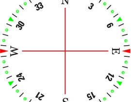#35 for Draw an airplane compass by Naseem065
