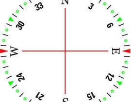 Nro 35 kilpailuun Draw an airplane compass käyttäjältä Naseem065