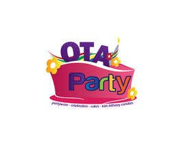 #98 para Logo design for Ota Party de todeto