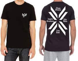 Nro 4 kilpailuun Tshirt design for up and coming brand käyttäjältä icecad49