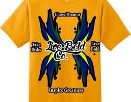 Nro 10 kilpailuun Tshirt design for up and coming brand käyttäjältä soraradu