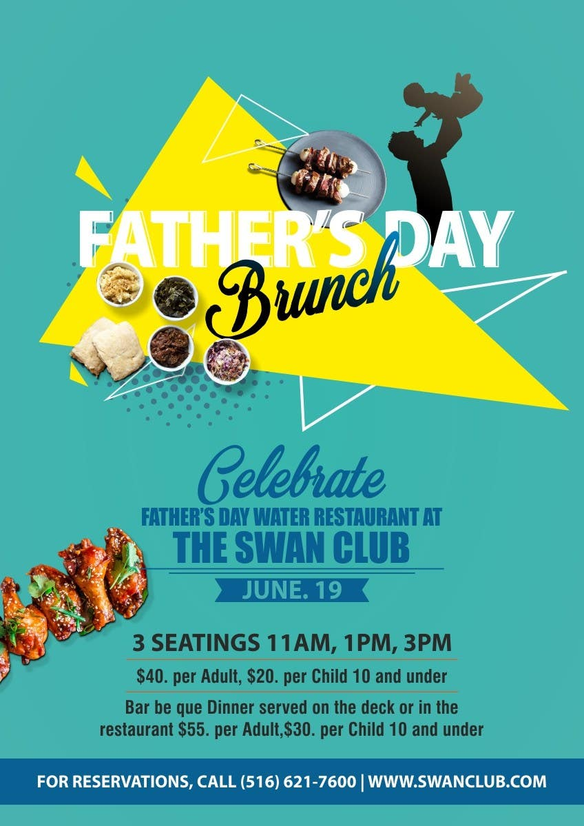 Contest Entry #                                        12                                      for                                         Father's Day Flyer for our Restaurant