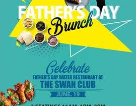 DesignerSanjay1 tarafından Father's Day Flyer for our Restaurant için no 12