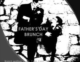 zztop8 tarafından Father's Day Flyer for our Restaurant için no 10