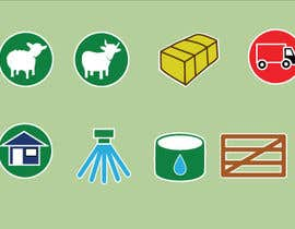 #7 for Design  additional small icons which match in with our original icons by janetcobb