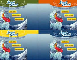 #28 untuk Label Design for Snack Attack - A new Fishfood label oleh lihia