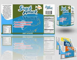 #3 untuk Label Design for Snack Attack - A new Fishfood label oleh bhetzkie