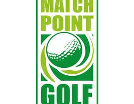 "meltorres tarafından Design a Logo for ""Match Point Golf"" için no 88"
