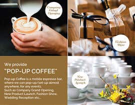 #35 untuk Design a Pull Up Banner for a Coffee Business oleh noninoey