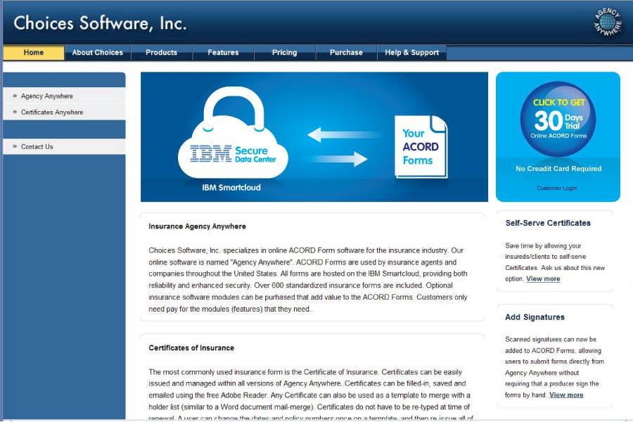 Inscrição nº                                         94                                      do Concurso para                                         Illustration to be shown front and center on Choices Software, Inc. website