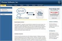 Graphic Design Inscrição do Concurso Nº5 para Illustration to be shown front and center on Choices Software, Inc. website
