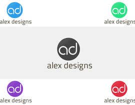 #55 for Design a Logo for Alex Designs by cristigoia