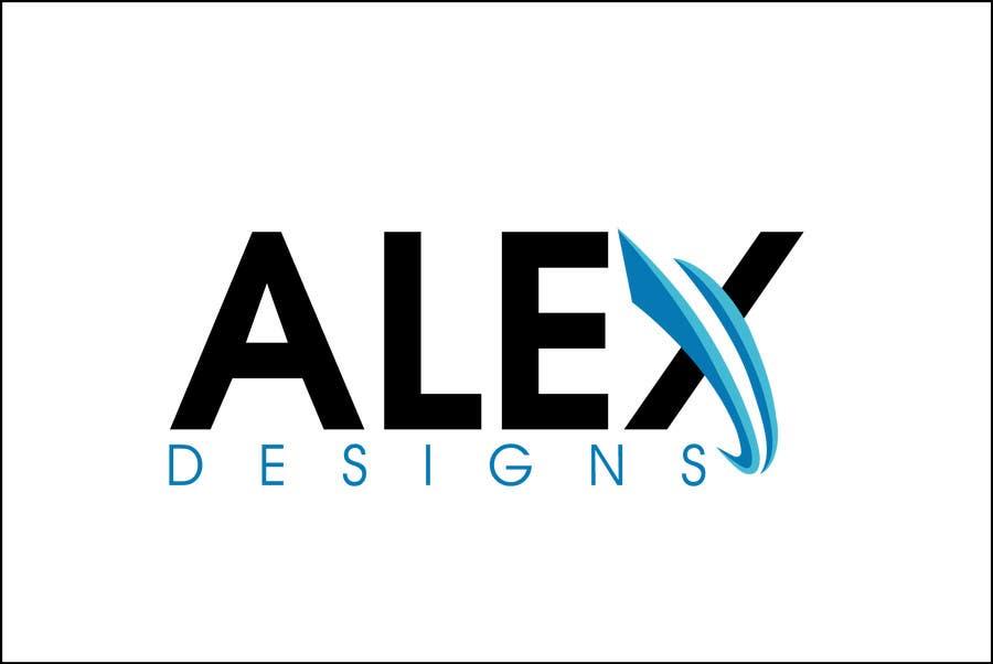 Penyertaan Peraduan #31 untuk Design a Logo for Alex Designs