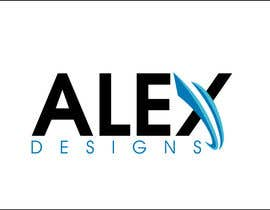 nº 31 pour Design a Logo for Alex Designs par GoldSuchi