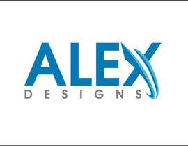 nº 32 pour Design a Logo for Alex Designs par GoldSuchi