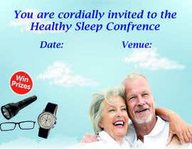 Nro 1 kilpailuun Design a Banner for healty sleep conference käyttäjältä saumyasaxena