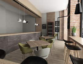 salamonzsolt tarafından 3D MAX render for a small fast food restaurant layout için no 14