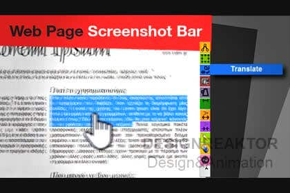 designreaktor tarafından URGENT! Create a Video PROMO for Webpage Screenshot Bar için no 12