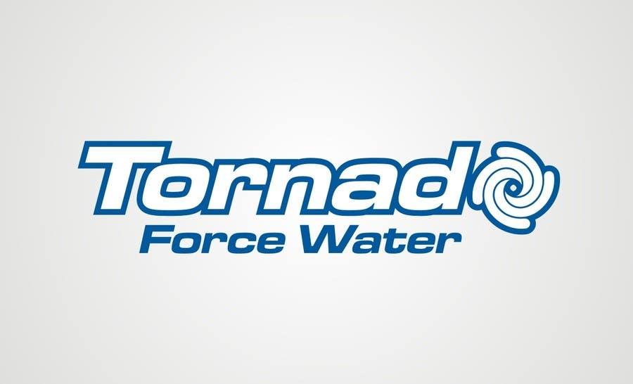 """Penyertaan Peraduan #33 untuk Design a Logo for """"Tornado Force"""" water"""