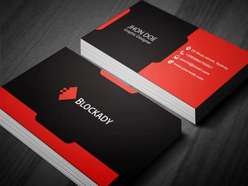 Graphic Designer Business Card Templates