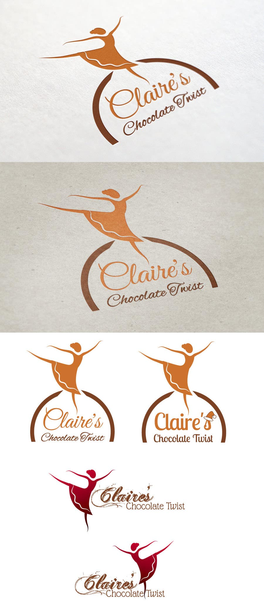 """#32 for Design a Logo for """"Claire's Chocolate Twist"""" by qgdesign"""