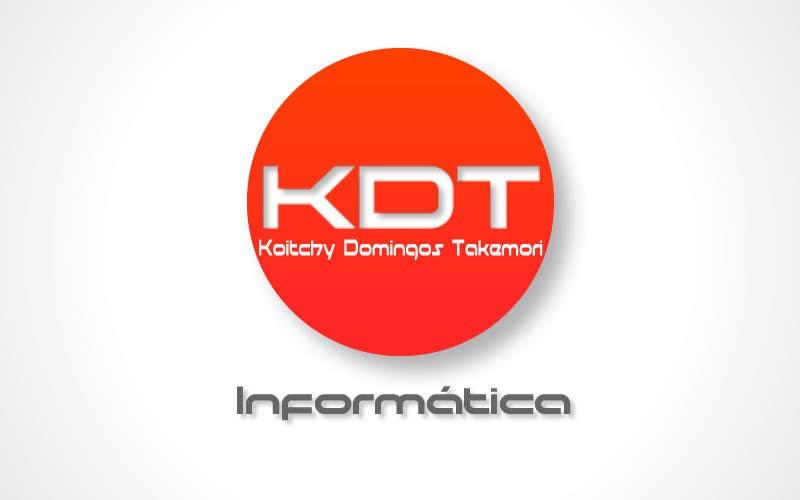 Inscrição nº 39 do Concurso para Projetar um Logo for KDT informatica