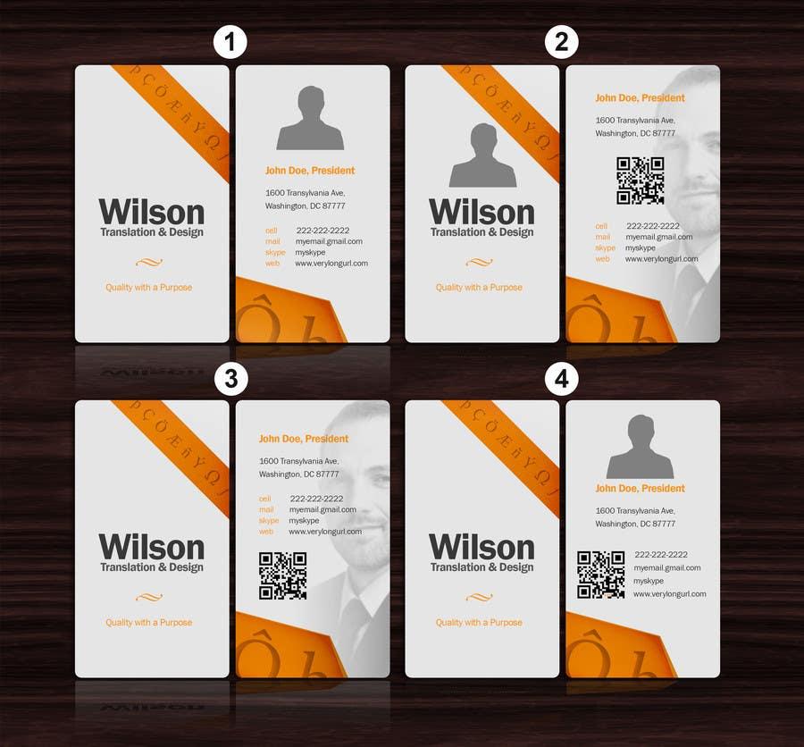 Konkurrenceindlæg #17 for Design Logo and Namecards for Translation Business