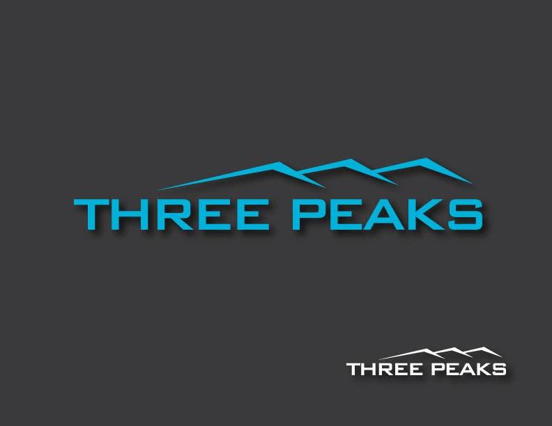 Kilpailutyö #179 kilpailussa Three Peaks Logo Design