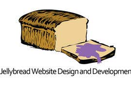 #4 untuk Design a Logo for Jellybread Website Design and Development oleh samoascookie