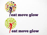 Graphic Design Konkurrenceindlæg #603 for Logo Design for EAT | MOVE | GLOW
