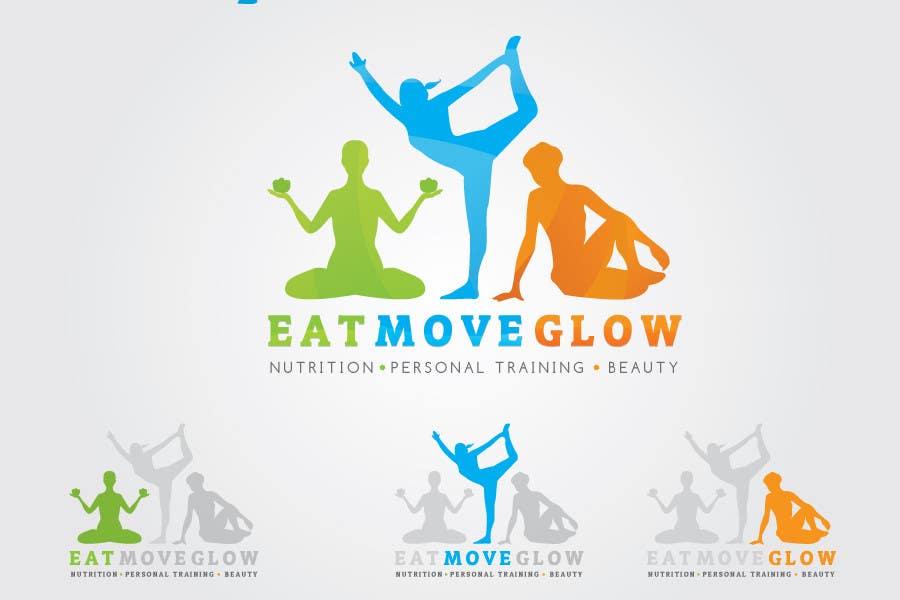 Konkurrenceindlæg #                                        677                                      for                                         Logo Design for EAT   MOVE   GLOW