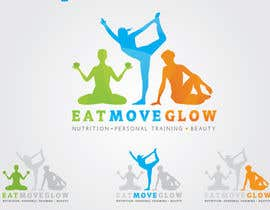 #677 para Logo Design for EAT | MOVE | GLOW por marcoartdesign