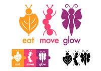 Graphic Design Konkurrenceindlæg #422 for Logo Design for EAT | MOVE | GLOW